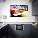 Vintage Chevrolet Grill Canvas Art