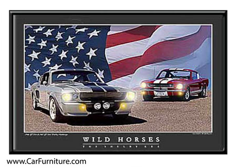 Wild Horses - Shelby Era (LED ART)