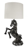 Real Car Part Created Wild Stallion Lamp