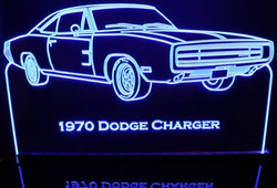 1970 Dodge Charger (Desk Sign/Plaque)