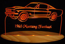 1965 Ford Mustang Fastback (Desk Sign/Plaque)