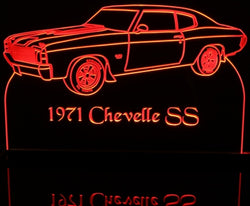 1971 Chevrolet Chevelle SS (Desk Sign/Plaque)