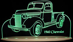 1940 Chevrolet Pickup Truck (Desk Sign/Plaque)
