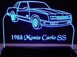1988 Monte Carlo SS (Desk Sign/Plaque)