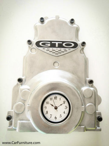 GTO Metal Wall Timing Cover Wall Clock