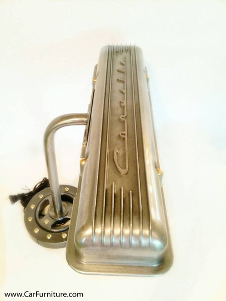 Vintage Corvette Valve Cover Desk Lamp