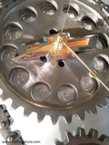 Chevrolet 'Bowtie' Engine Timing Gear Wall Clock
