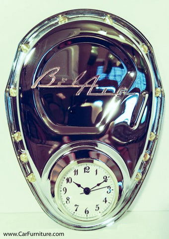 Chevy Bel Air Tri-five Timing Cover Clock