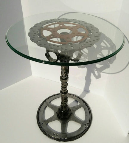 "The ""Copperhead"" Pedestal Table"