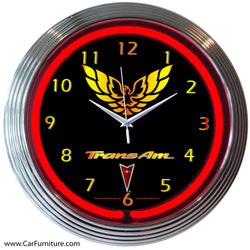 GM Trans Am Neon Clock