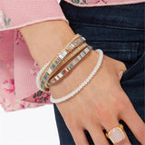 Embellished Double Wrap Bracelet