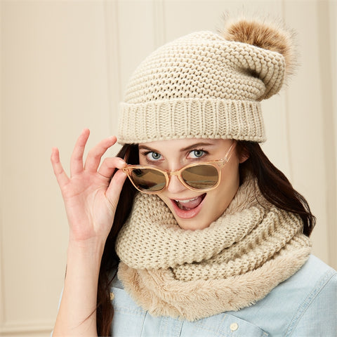 Hat & Infinity Scarf Set