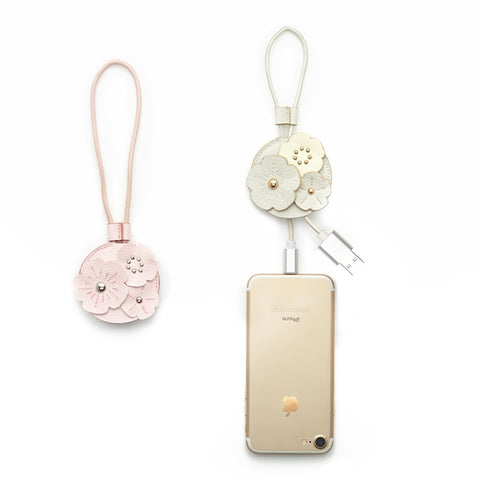 Flower USB Charging Tag