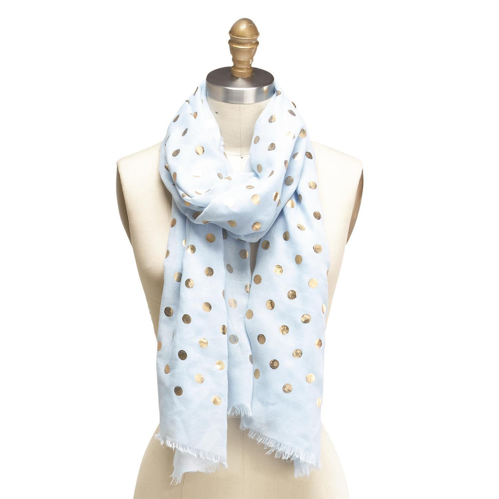Gold Dot Scarf