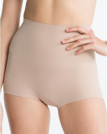 SPANX Power Shorty-Light Nude