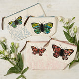 Beaded Butterfly Pouches