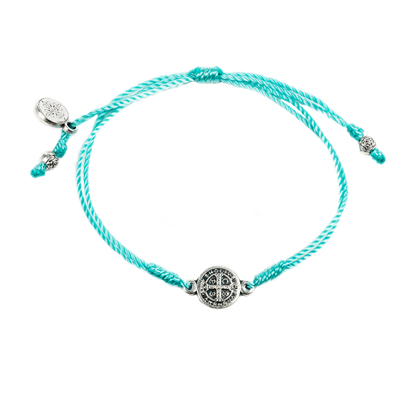 Breathe Bracelet Mint w/Silver