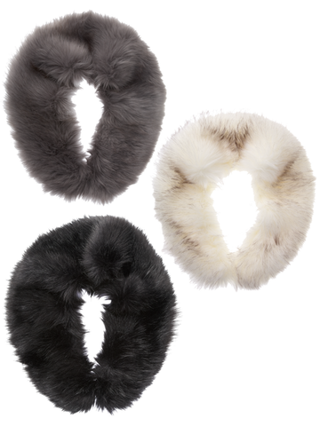 Faux Fur Neck Warmers