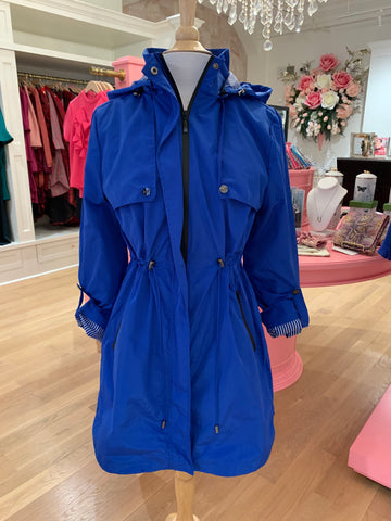 Royal Blue Rain Jacket