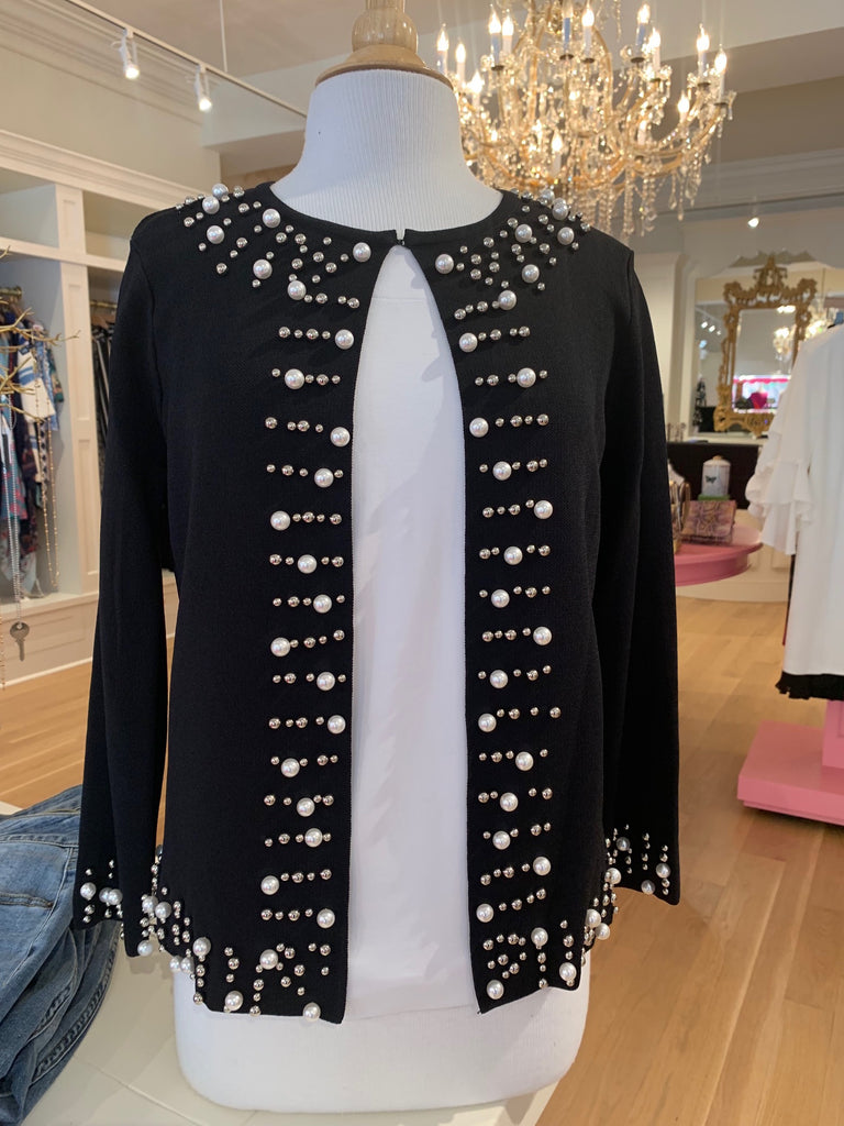 Black & Pearl Sweater
