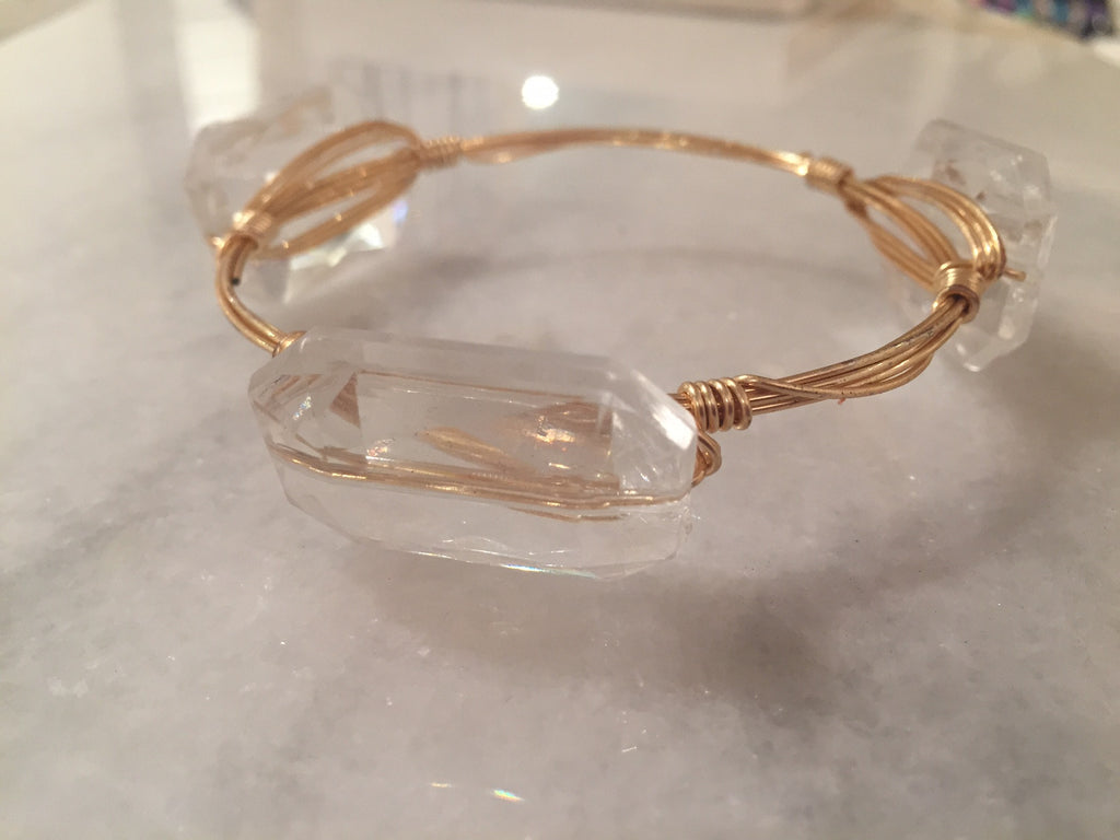Clear Acrylic Bangle