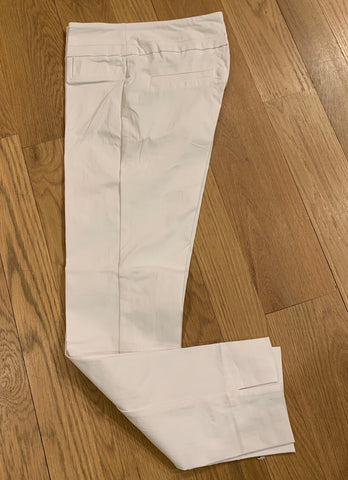 White Ankle Cut Pant