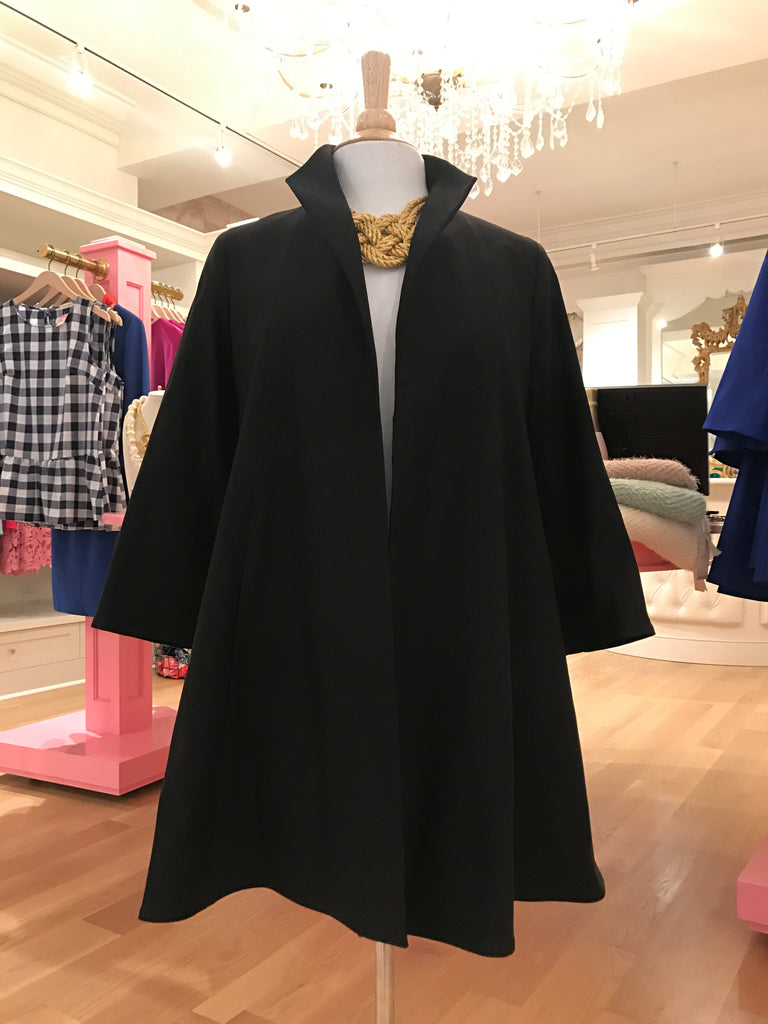 Black Swing Coat