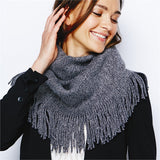 Metallic Accents Infinity Scarf