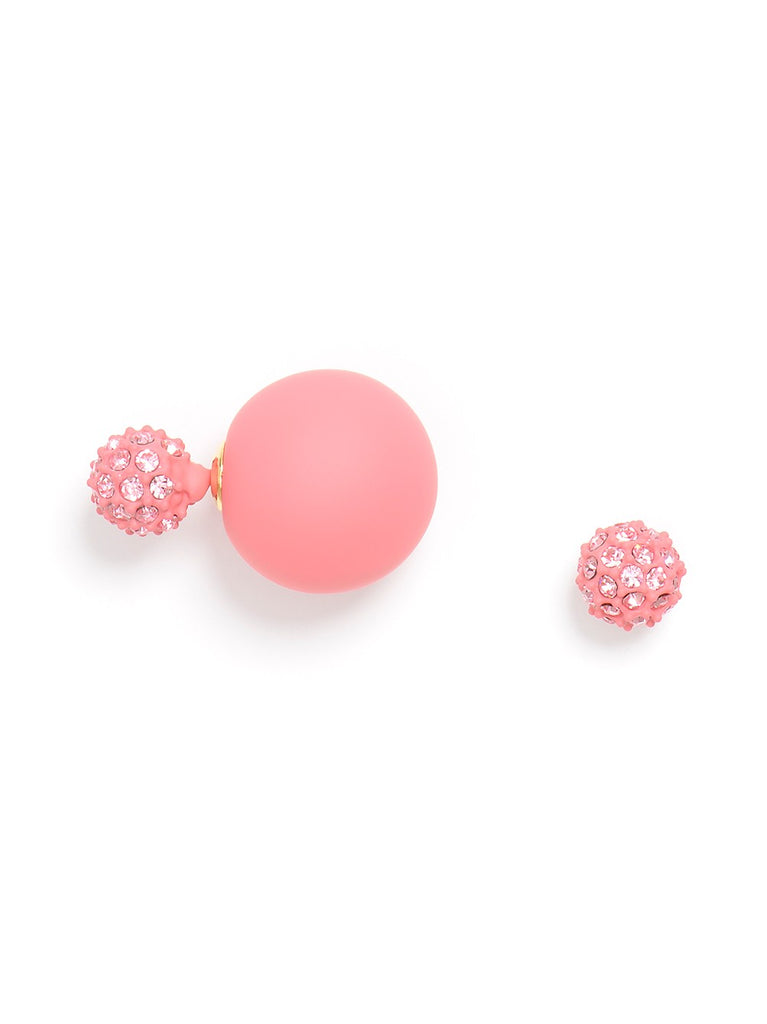 Light Pink Floating Earring