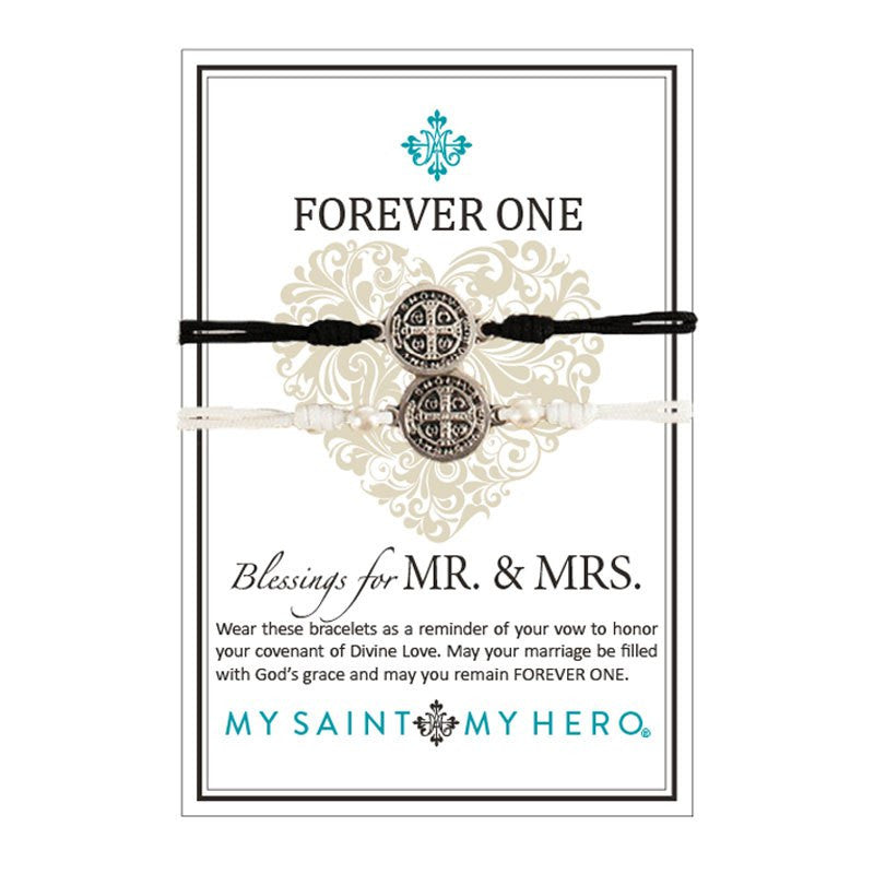 Forever One Blessing Bracelet for Mr. & Mrs.