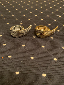 Angel Wing Stretch Ring