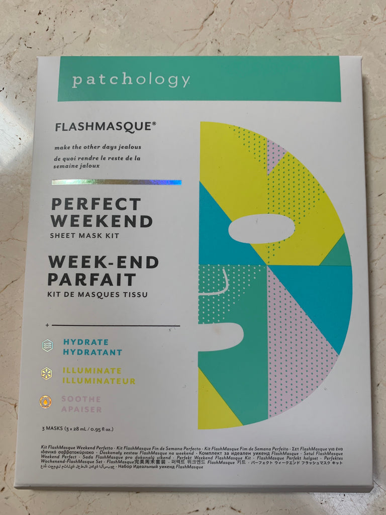 Patchology Flashmasque Perfect Weekend Sheet Mask Kit