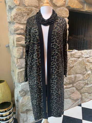 Leopard Print Duster