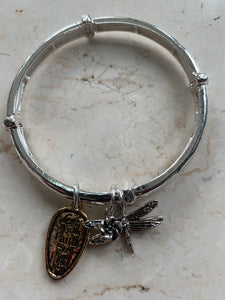 Message Stretch Bracelet