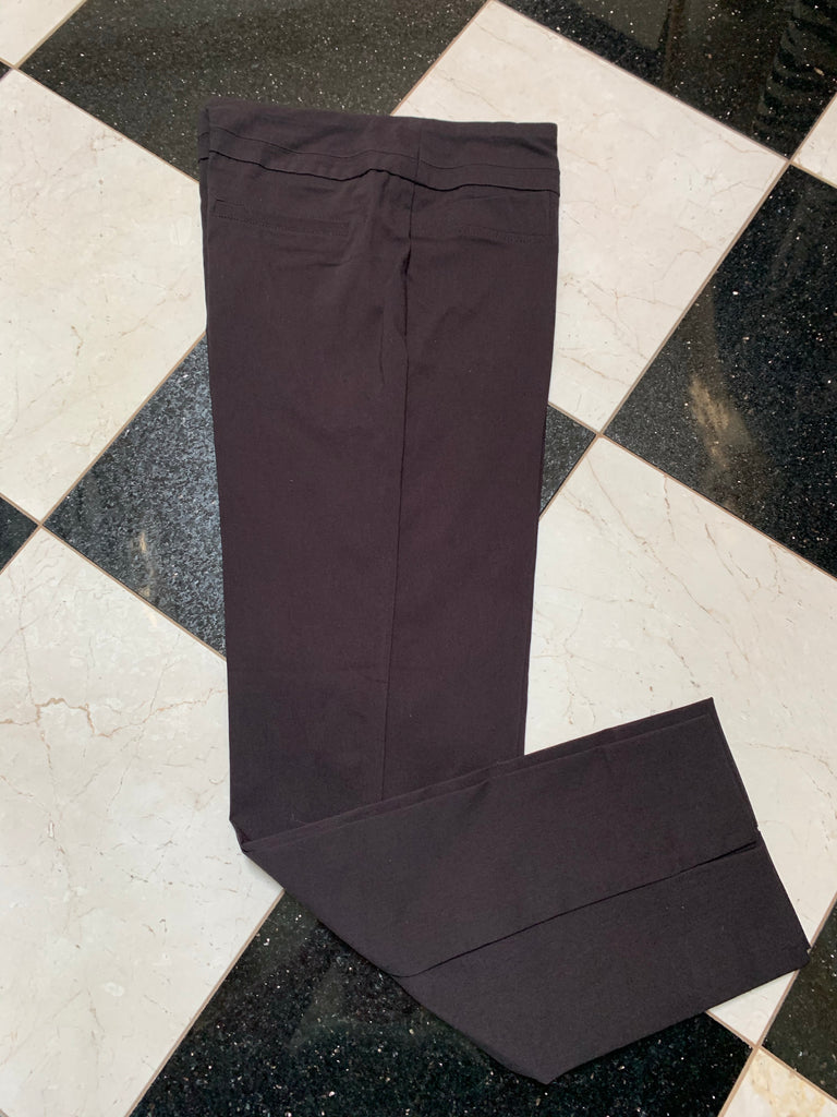 Brown Ankle Cut Pant