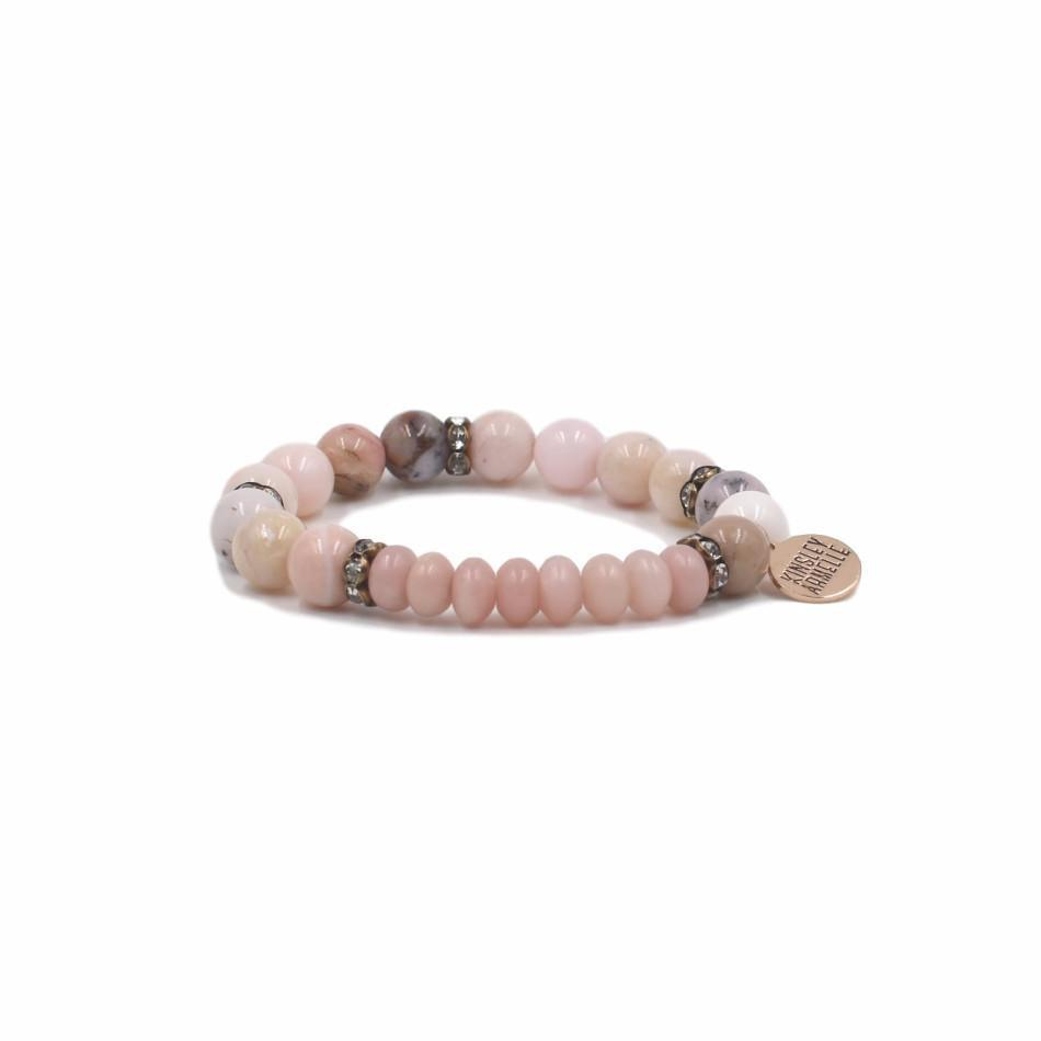 kinsley armelle rainey pink collection products bracelet lady