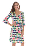Cabana Party Bell Sleeve Dress