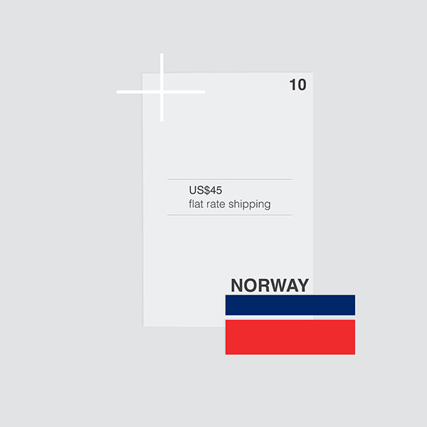 flat shipping rate to norway