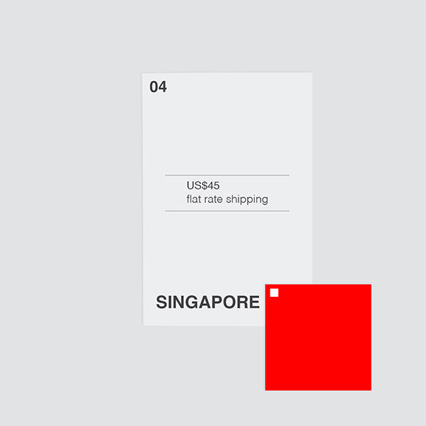 flat shipping rate to singapore