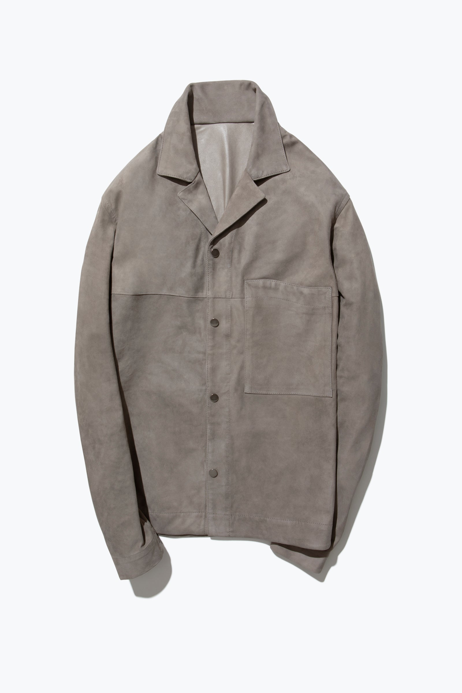 Edition 001 - Suede Overshirt (Taupe)