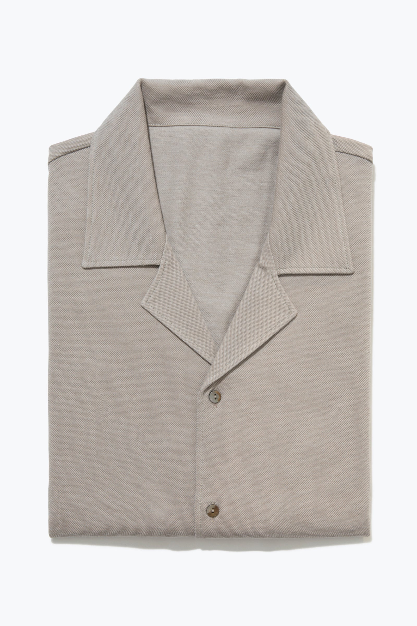 Knitwear - Lounge Shirt (Taupe)