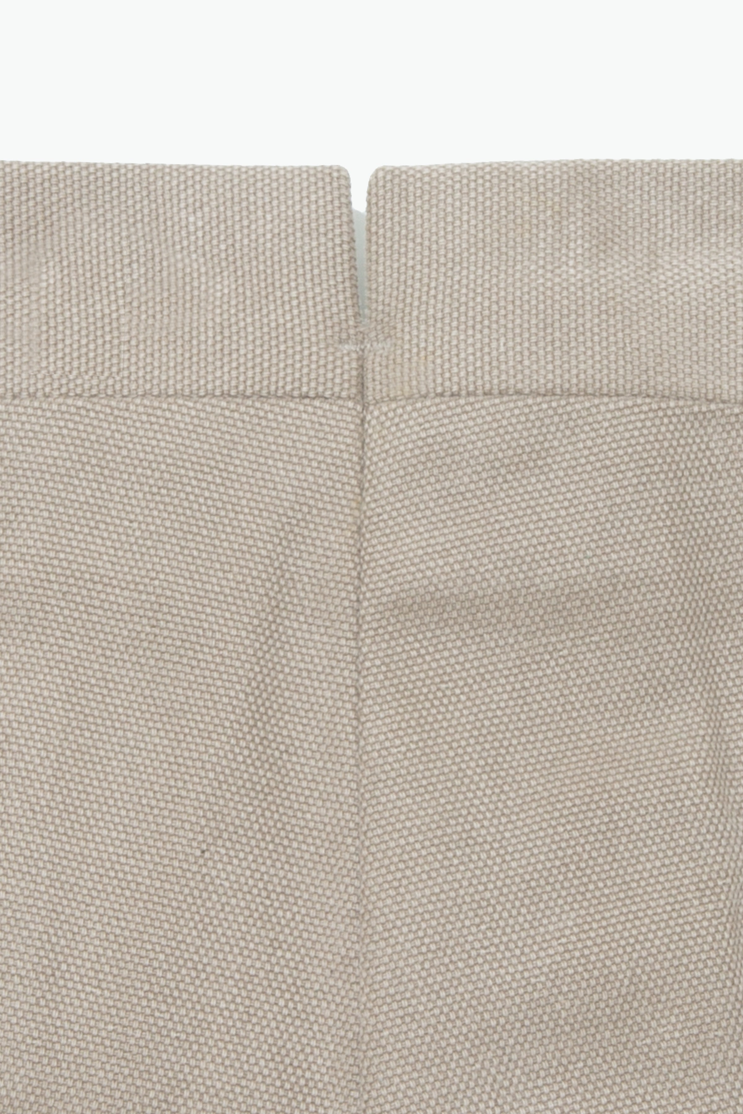 MTO Trousers - Single Pleat (Basketweave Taupe)
