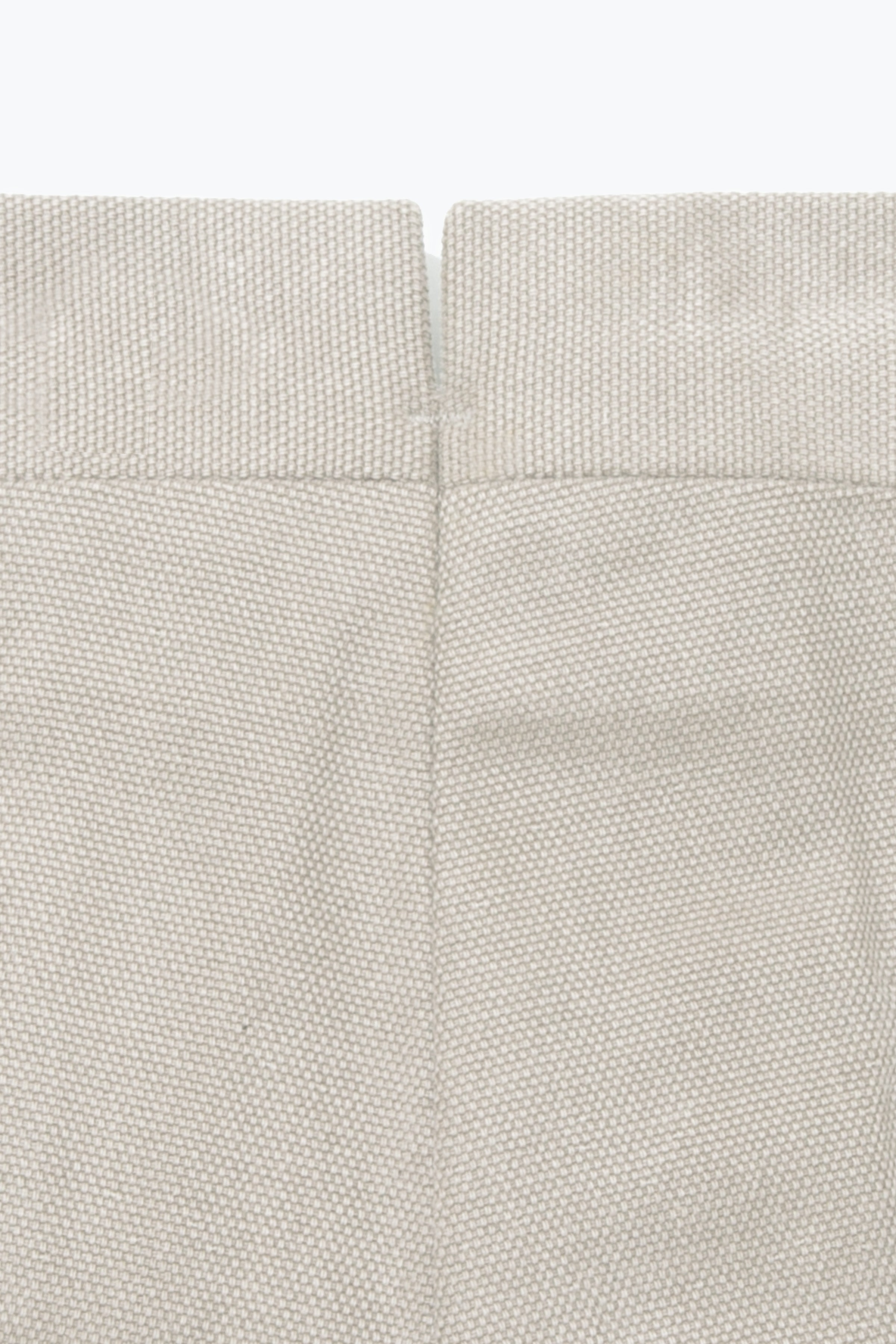 MTO Trousers - Single Pleat (Basketweave Sand)