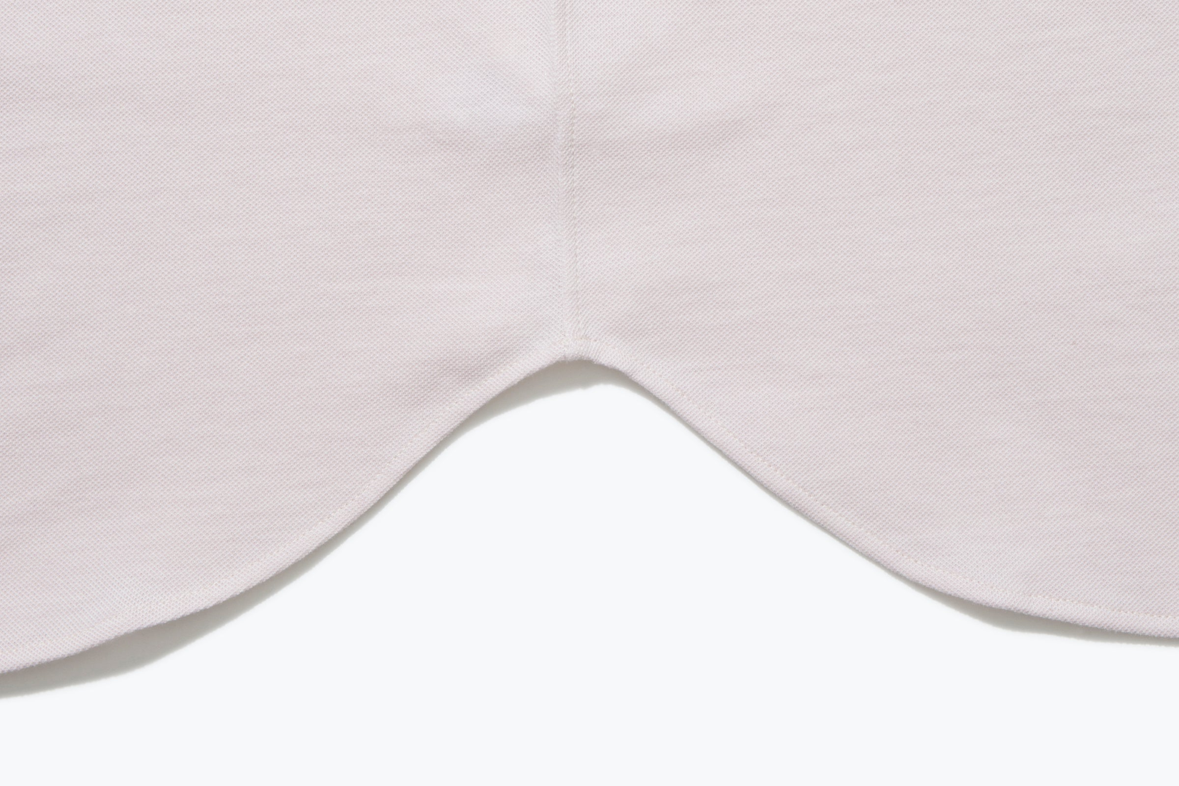 Knitwear - Band Collar Shirt (Dusty Rose)