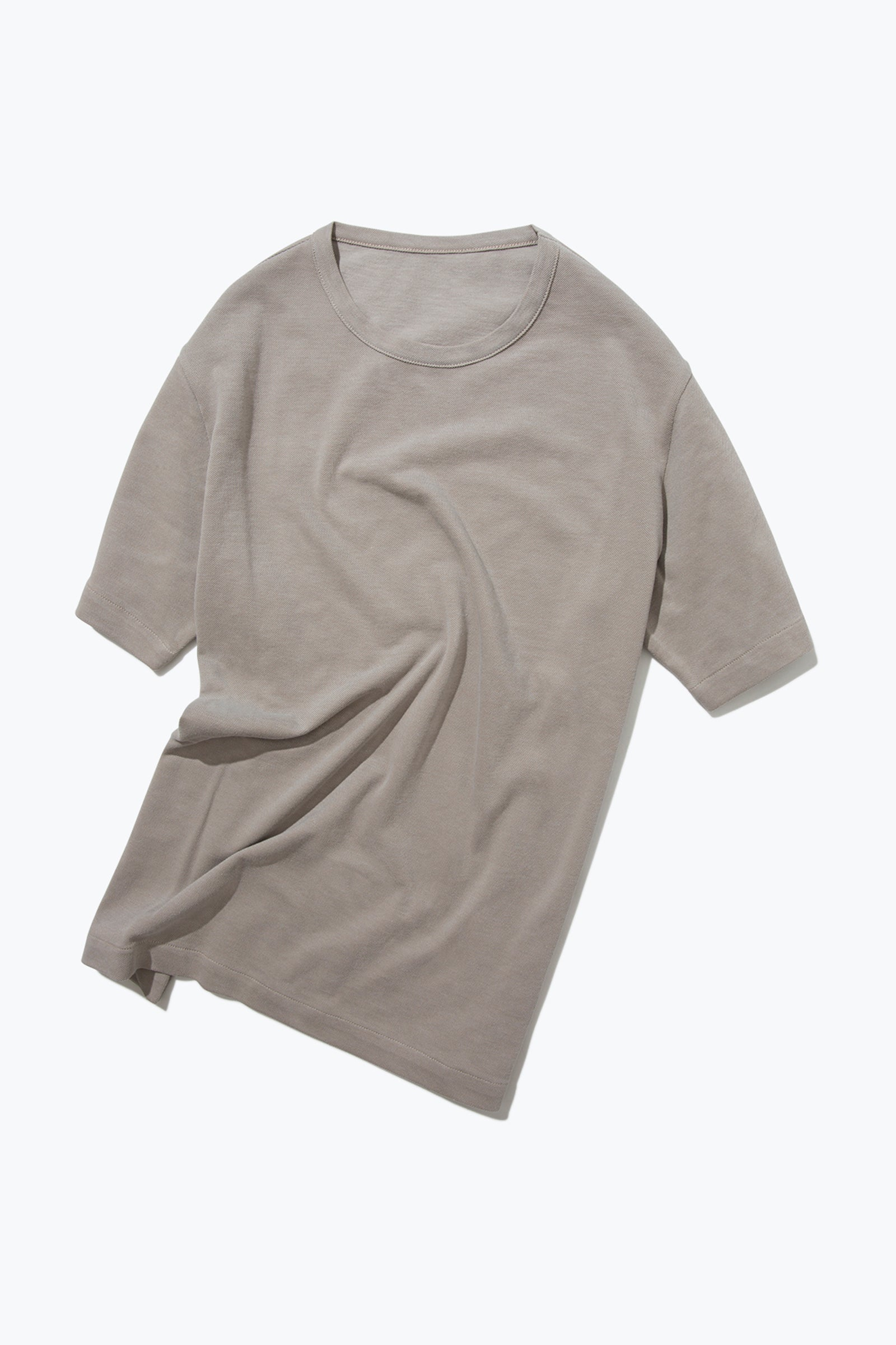 Knitwear - T Shirt (Taupe)