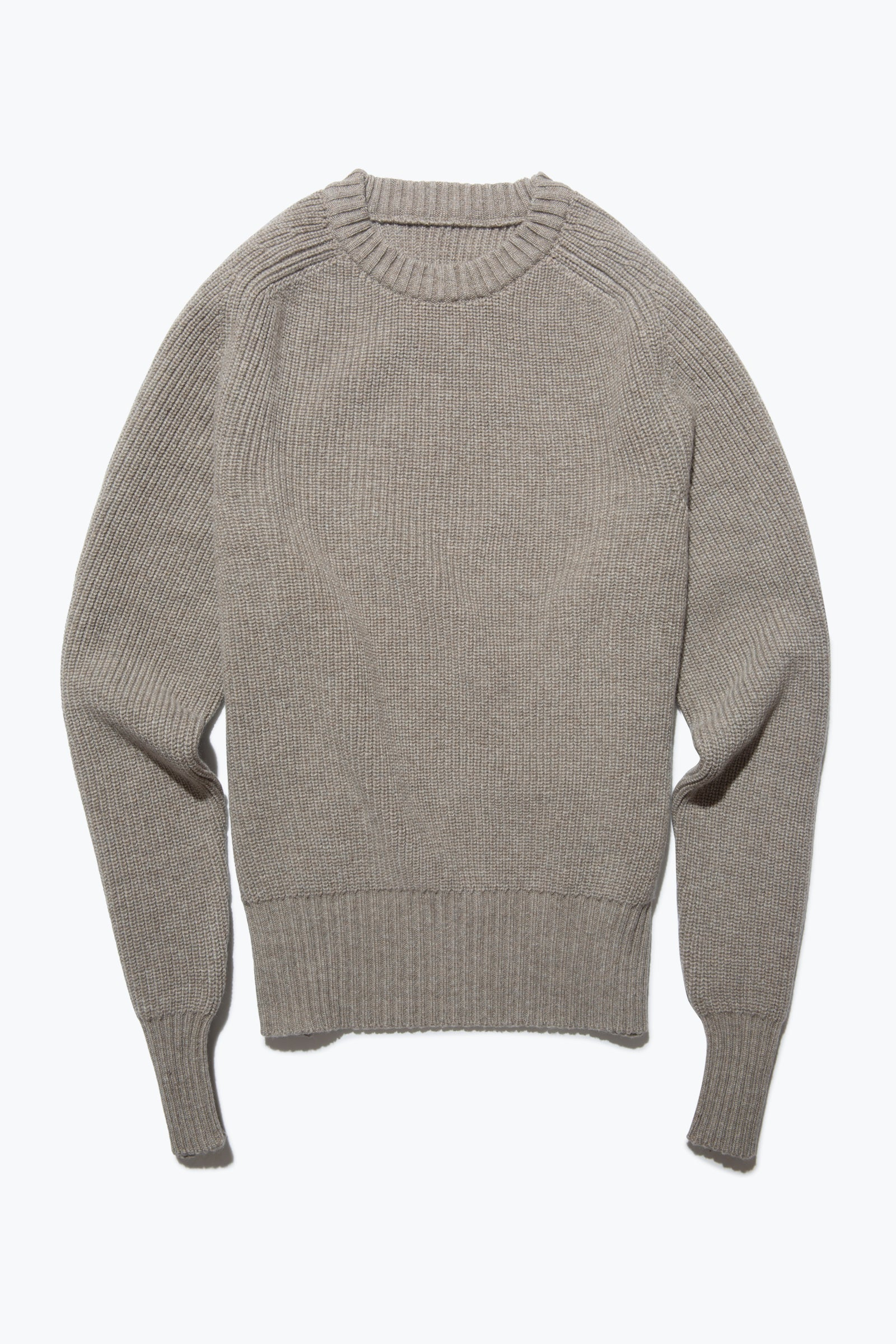 Sweaters - Crew Neck (Taupe)