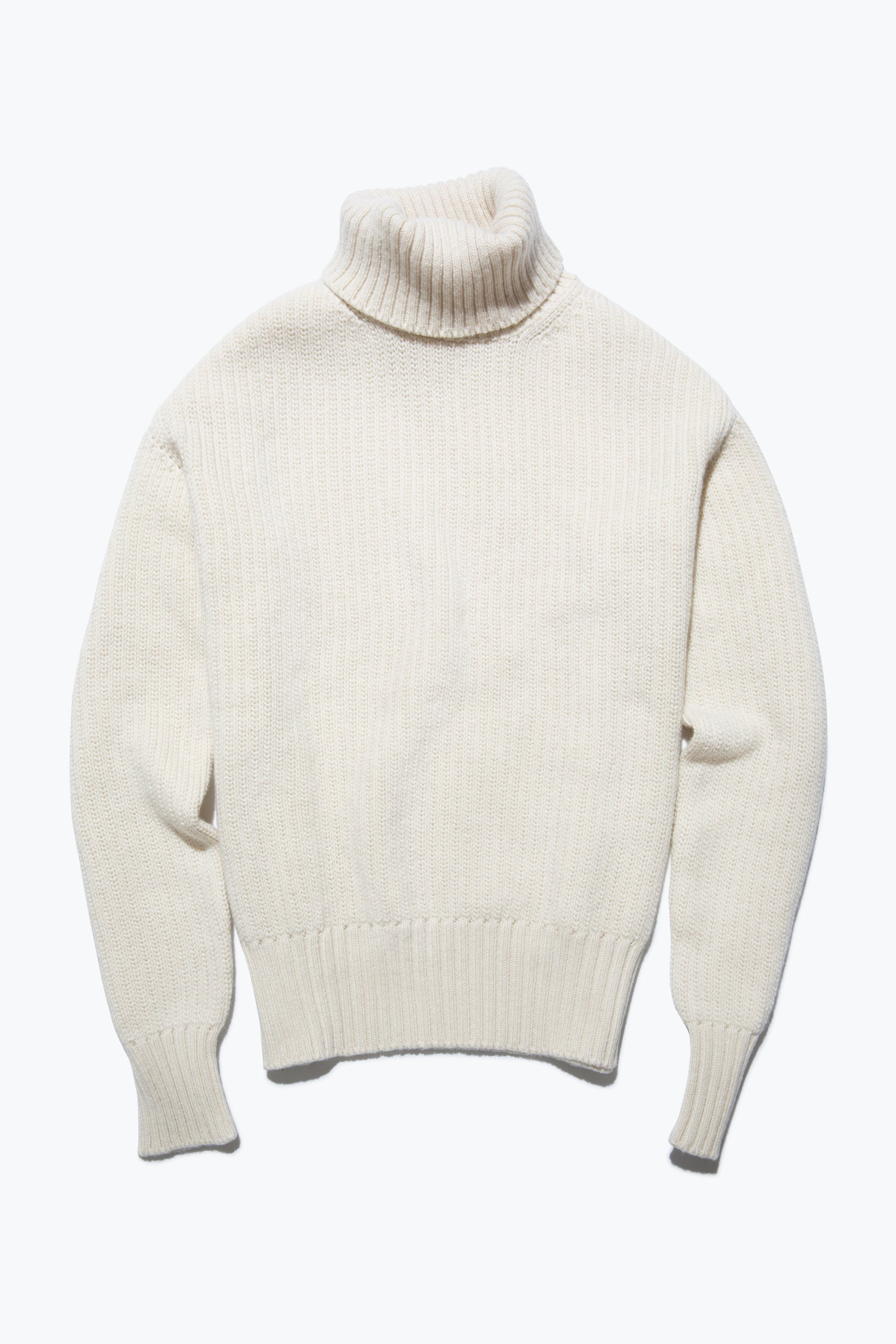 Sweaters - Roll Neck (Ivory)