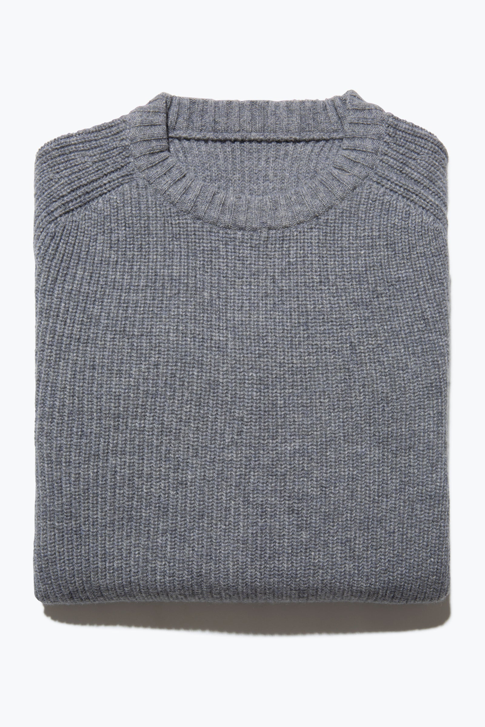 Sweaters - Crew Neck (Steel Grey)