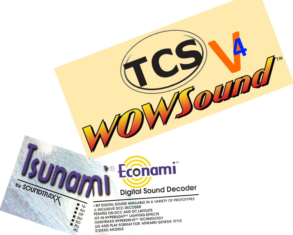 TCS Wow Sound V4 Versus SoundTraxx Tsunami2 Review: What's the Big Deal?