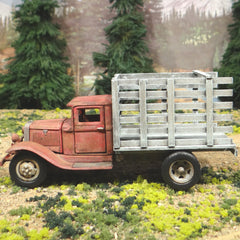 1934 Ford Stake Truck - O Scale On30 - 1/43 Diecast